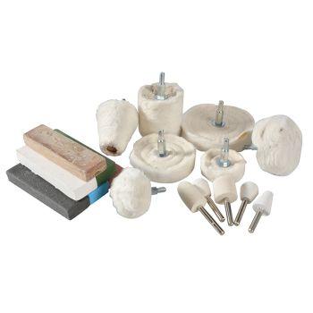 BlueSpot Tools Polishing Kit 18 Piece - B/S19011