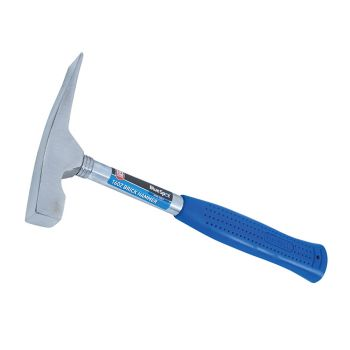 BlueSpot Tools Steel Shafted Brick Hammer 450g (16oz) - B/S26565