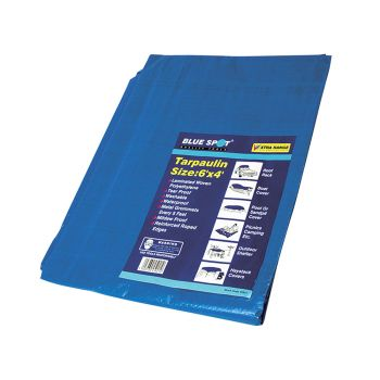 BlueSpot Tools Tarpaulin 1.9 x 1.2m  (6 x 4ft) - B/S45921