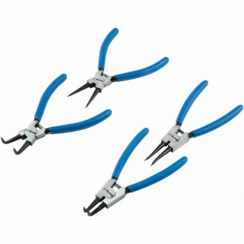 BlueSpot Tools Circlip Pliers Set, 4 Piece - B/S8702