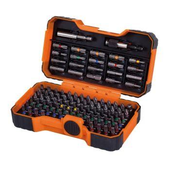 Bahco 59/S100BC Colour Coded Bit Set, 100 Piece