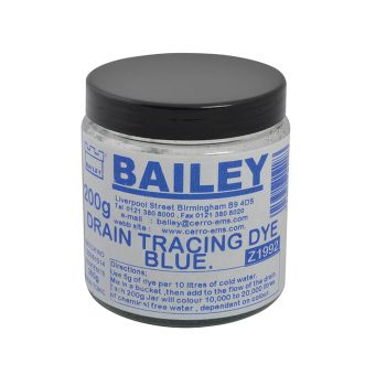Bailey Drain Tracing Dye - Blue - BAI1992