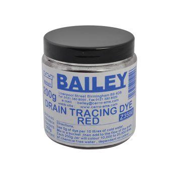 Bailey Drain Tracing Dye - Red - BAI3590