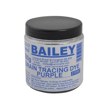 Bailey Drain Tracing Dye - Purple - BAI3592