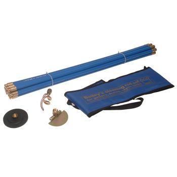 Bailey Universal 3/4in Drain Rod Set 3 Tools Brass Fittings - BAI5431