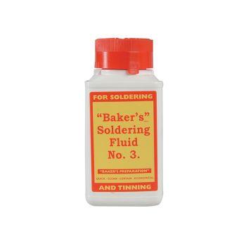 Baker's No.3 Soldering Fluid 125ml - BAK125