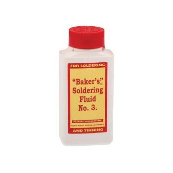 Baker's No.3 Soldering Fluid 250ml - BAK250