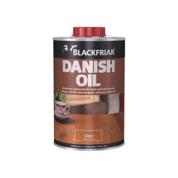 Blackfriar Danish Oil, Clear 1 Litre - BKFDOC1L