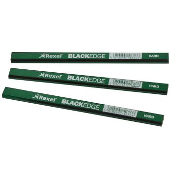 Blackedge Carpenter's Pencils - Green / Hard Card of 12 - BLAG