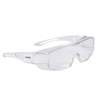 Bolle Safety Overlight OTG Goggles - Clear - BOLOVLITLPSI