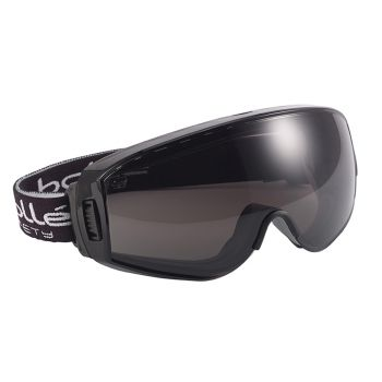 Bolle Safety Pilot Ventilated Safety Goggles - Smoke - BOLPILOPPSF