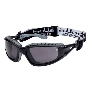 Bolle Safety Tracker Safety Goggles Vented Smoke - BOLTRACPSF