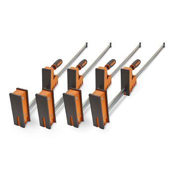 """BORA 12"""" Parallel Clamp, 3.5"""" Throat - QUAD PACK - BHBOR571112QP"""