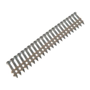 Bostitch MCN Anchor Stick Ring Galvanised Nails 4.00 x 38mm Pack of 2000 - BOSMCN4R38G