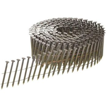 Bostitch Bright Ring Shank Coil Nails 2.1 x 25mm Pack of 31500 - BOSN203R25Q