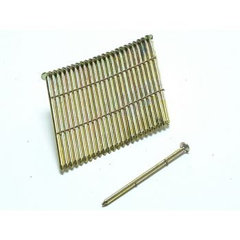 Bostitch 28° Galvanised Ring Shank Stick Nails 3.1 x 90mm - Pack of 2000