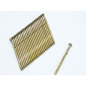 Bostitch 28° Galvanised Ring Shank Stick Nails 3.1 x 90mm Pack of 2000