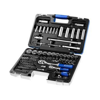Expert Socket & Accessory Set of 98 Metric 1/4 & 1/2in Drive - BRIE034805B