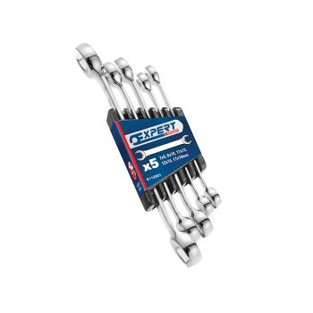 Expert Flare Nut Wrench Set of 5 7x9 8x10 11x13 12x14 & 17x19mm - BRIE112501B