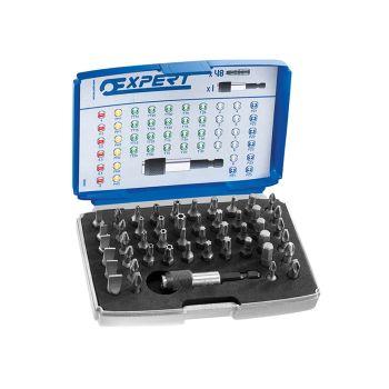 Expert 1/4in Bit Set 49 Piece + Bit Holder - BRIE131701B