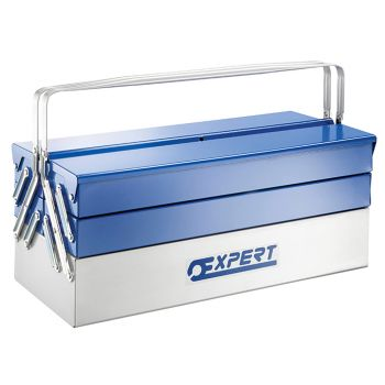 Expert Metal Cantilever Toolbox 5 Tray 45cm - BRIE194738B