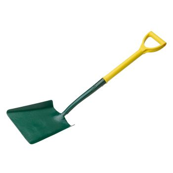 "Bulldog Square Mouth Shovel 28"" - No.2 - Polyfibre D Handle & Shaft - BUL5152022860"