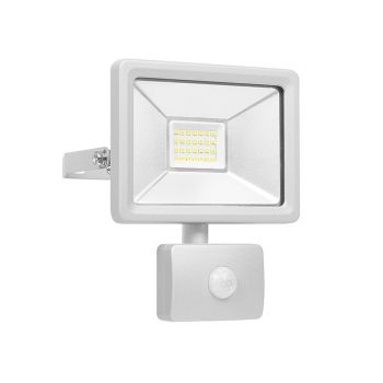 Byron Ultra Slim Integrated LED Floodlight With Sensor 20 Watt 1600 Lumen - BYRSL1DOB20