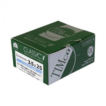 Timco Classic Multi-Purpose Screws - PZ - Double Countersunk - Stainless Steel - Box