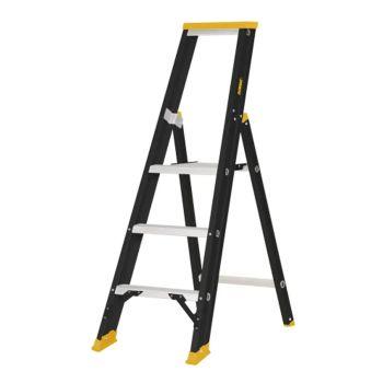 DeWalt Professional Single Step Ladder, 0.75m 3 Rungs