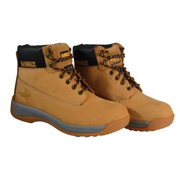 DEWALT Apprentice Hiker Wheat Nubuck Boots UK 8 Euro 42 - DEWAPPRENT8