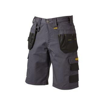 DEWALT Cheverley Lightweight Grey Polycotton Shorts Waist 42in - DEWCHEV42W