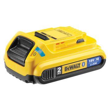 DEWALT Bluetooth XR Slide Li-ion Battery Pack 18V 2.0Ah - DEWDCB183B