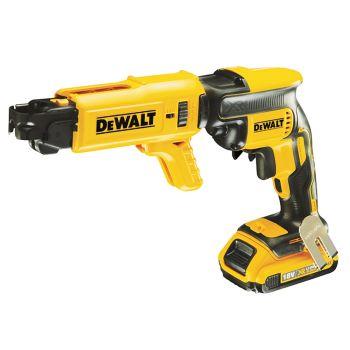 DEWALT Brushless Collated Drywall Screwdriver 18V 2 x 2.0Ah Li-Ion - DEWDCF620D2K