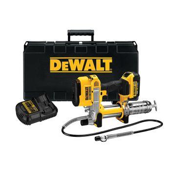 DEWALT Cordless XR Grease Gun 18V 1 x 4.0Ah Li-Ion - DEWDCGG571M1