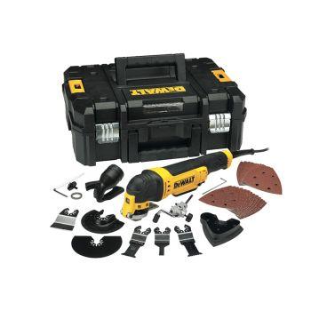DEWALT Multi-Tool Quick Change Kit & TSTAK 300W 240V - DEWDWE315KT