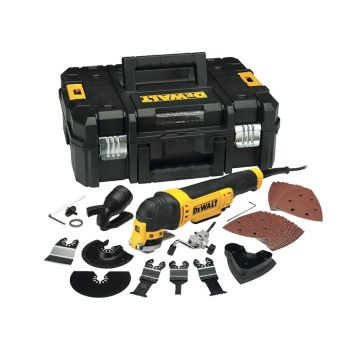 DEWALT Multi-Tool Quick Change Kit & TSTAK 300W 110V - DEWDWE315KTL