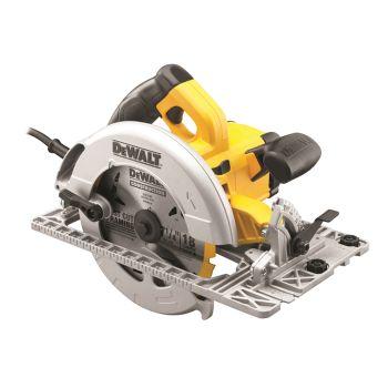 DEWALT Precision Circular Saw & Track Base 190mm 1600W 110V - DEWDWE576KL