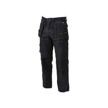 DEWALT Pro Tradesman Black Trousers Waist 42in Leg 33in - DEWPROT4233