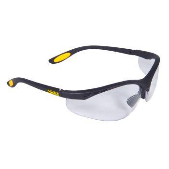 DEWALT Reinforcer Safety Glasses - Clear - DEWSGRFC