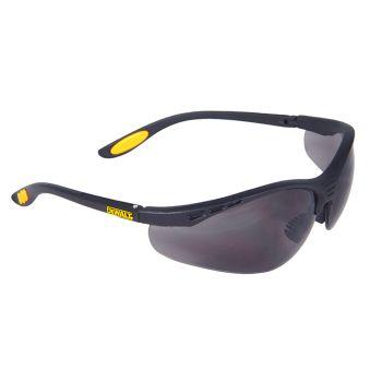 DEWALT Reinforcer Safety Glasses - Smoke - DEWSGRFS