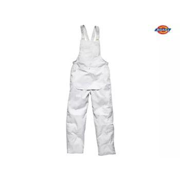 Dickies Painter's Bib & Brace White XXL (52-54in) - DIC650XXW