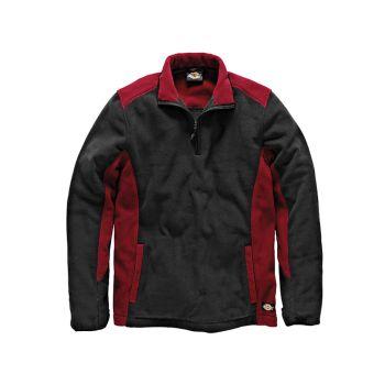 Dickies Two Tone Micro Fleece Red / Black -  XXL (52-54in) - DIC7011RBXXL
