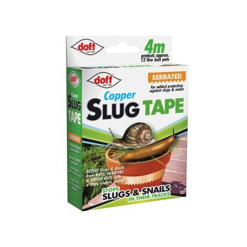 DOFF Slug & Snail Adhesive Copper Tape - CDU 4M - DOFAM004DS