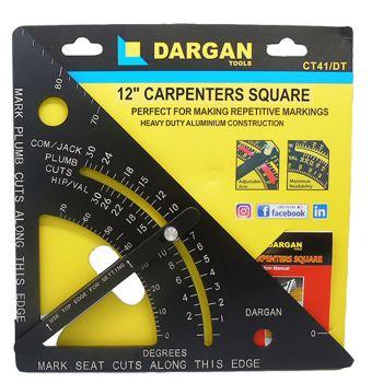 Dargan 12″ Carpenters Speed Square - BHDARCT41DT