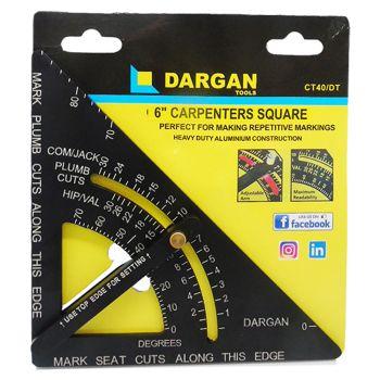 Dargan 6″ Carpenters Speed Square - BHDARCT40
