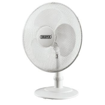 """Draper 16"""" Desk Fan (400mm) - 09111"""