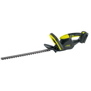 Draper 18V Cordless Li-ion Hedge Trimmer with Battery Charger - HTC18LI