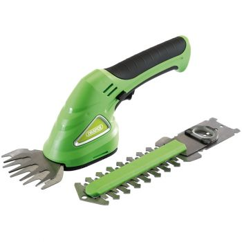 Draper Cordless Grass and Hedge Shear Kit (7.2V) - CGS72