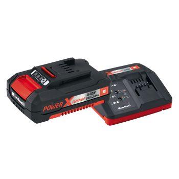 Einhell Power X-Change Battery & Charger Starter Kit 18V 1 x 2.0Ah Li-Ion - EINPXSTKIT2