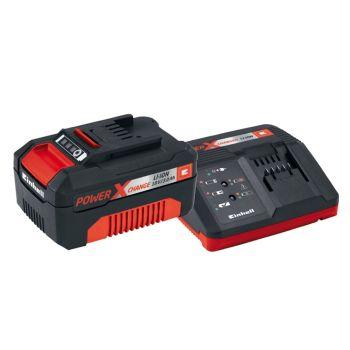 Einhell Power X-Change Battery & Charger Starter Kit 18V 1 x 3.0Ah Li-Ion - EINPXSTKIT3